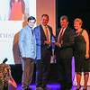Daniel Morrison, CEO of Optima Bank & Trust is awarded Business of the year for Financial Services at the 2017 Exeter Area Chamber of Commerce Community Awards on Thursday at the Blue Ocean Event Center, Salisbury Beach, MA on August, 24, 2017.  Matt Parker Photos