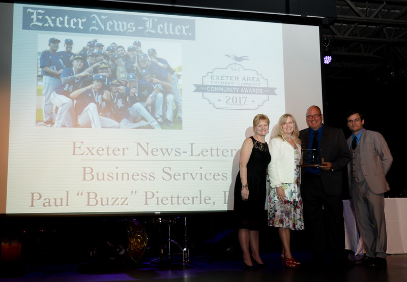 2017 Exeter Area Chamber of Commerce Community Awards on Thursday at the Blue Ocean Event Center, Salisbury Beach, MA on August, 24, 2017.  Allie Burke Photography