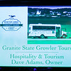 Dave Adams owner of Granite State Growlers Tours was awarded Business of the year for Tourism & Hospitality at the 2017 Exeter Area Chamber of Commerce Community Awards on Thursday at the Blue Ocean Event Center, Salisbury Beach, MA on August, 24, 2017.  Matt Parker Photos