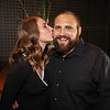 Jesse Greene gets a kiss from his wife Elly at the 2017 Exeter Area Chamber of Commerce Community Awards on Thursday at the Blue Ocean Event Center, Salisbury Beach, MA on August, 24, 2017.  Matt Parker Photos