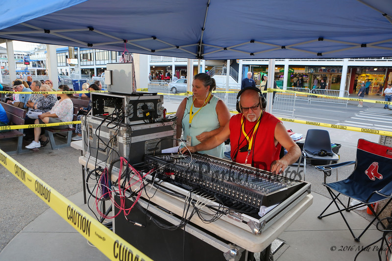 Sound Board at the 13th Anniversary of the Hampton Beach Talent Competition 2017, presented by The Hampton Beach Village District on Sunday 8-27-2017 @ The Seashell Stage, Hampton Beach, NH.  Matt Parker Photos