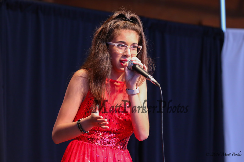"17 year old Guada-Mary Benoit of Norwich, CT sings, ""MacArther Park"" at the 13th Anniversary of the Hampton Beach Talent Competition 2017, presented by The Hampton Beach Village District on Sunday 8-27-2017 @ The Seashell Stage, Hampton Beach, NH.  Matt Parker Photos"