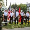 American Legion Post 35 Global War On Terrorism Monument Rededication honoring SSG David J. Whitcher, USA Bradford, NH and New Hampshire's Fallen Heroes on September 11, 2017 @ Post 35, High Street, Hampton, NH.  Matt Parker Photos