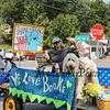 Mary E. Bartless Library float at the Brentwood's 275th Celebration Parade on Sunday 9-17-2017, Brentwood, NH.  Matt Parker Photos