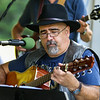 Andy Delpozo of the North Road Guitar Builders Band plays his handbuilt guitar at the Brentwood 275th Celebration at the Brentwood Recreation Area & Community Center on Saturday 9-16-2017, Brentwood, NH.  Matt Parker Photos