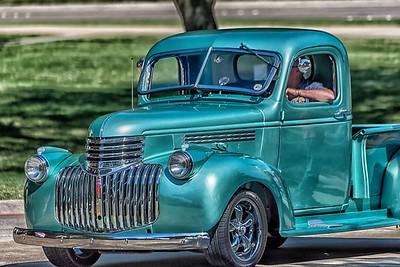 Heights Car Show...Richardson Texas