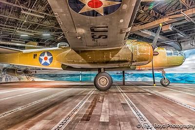 B-25 Bomber...Nimitz War Museum...Fredericksburg, Texas...Jan 2017