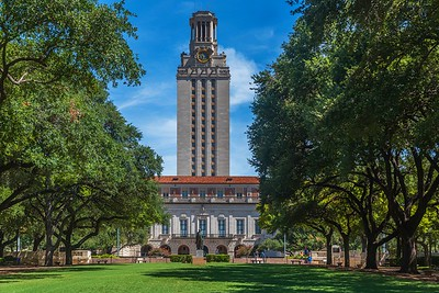 UT Tower...Austin, Texas...August 13, 2017