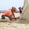 "Delayne Corbett of Vancouver Canada carves, ""Winging It"" at the 18th Annual Hampton Beach Master Sand Sculpting Classic on Saturday June 16, 2018, Hampton Beach, NH.  Matt Parker Photos"