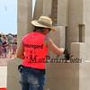"Melineige Beauregard of Montreal carves, ""Rising"" at the 18th Annual Hampton Beach Master Sand Sculpting Classic on Saturday June 16, 2018, Hampton Beach, NH.  Matt Parker Photos"