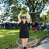 """Taylor Beaton of Tallvluh Hoops shows off her skills with """"hulahoop's"""" at the 2018 Exeter Powder Keg Beer & Chili Festival on Swasey Parkway sponsored by the Exeter Area Chamber of Commerce and Exeter Parks and Recreation on Saturday 10-6-2018, Exeter NH.  [Matt Parker/Seacoastonline]"""