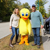 """Jean and Michael Gorman of Stratham pose for a photo with the """"Rubber Ducky"""" at the 2018 Exeter Powder Keg Beer & Chili Festival on Swasey Parkway sponsored by the Exeter Area Chamber of Commerce and Exeter Parks and Recreation on Saturday 10-6-2018, Exeter NH.  Matt Parker Photos"""