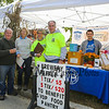 The Exeter Area St. Vincent de-Paul volunteers were selling raffle tickets to benefit their food pantry at the 2018 Exeter Powder Keg Beer & Chili Festival on Swasey Parkway sponsored by the Exeter Area Chamber of Commerce and Exeter Parks and Recreation on Saturday 10-6-2018, Exeter NH.  [Matt Parker/Seacoastonline]