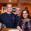 (L to R) Event Coordinator and Hampton Firefighter Kate Meehan with Fire Protection Secretary Stephanie Welsh and Department Secretary Darian Millett pose for a photo at the 2018 Hampton Firefighters Toy Bank Annual Chili Cook Off on Thursday at Wally's Pub on 11-15-2018, Hampton Beach, NH.  Matt Parker Photos