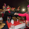 Hampton Re/Max staff members Peggy Russ, Erin Peirson and Sue King handed out hot chocolate at the 2018 Annual Christmas Tree Lighting at the Gazebo at Marelli Square sponsored by the Hampton Parks & Recreation Department on Friday Night, Hampton, NH, 11-30-2018.  Matt Parker Photos