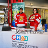 Bryant Carbone and Kaitlyn Tomasello brought information on  Children's Hospital at Dartmouth-Hitchcock (CHaD) program and the upcoming 2018 Battle of the Badges Hockey Championship.  Photo taken at the 2018 NH Legends of Hockey Senior All-Star Classic, DIV I, DIV II and DIV III on Sunday 3-18-2018 @ The Rinks at Exeter.  Matt Parker Photos