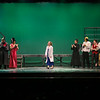 Congratulations and acknowledgements at the WHS Spring Musical Presents Young Frankenstein by Mel Brooks and Thomas Meehan based on the story and screenplay by Gene Wilder and Mel Brooks on Saturday, March 17th, 2018 at the WHS Auditorium.  Matt Parker Photos
