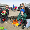 Sandy Valli of Salisbury with her 3 year old son Nolan and Friends Jennifer Simons and 2-1/2 year old Gage of Exeter at the 2018 Annual Hampton Beach Easter Egg Hunt by Hampton Recreation on Saturday at Hampton Beach, NH 3-24-2017.  Matt Parker Photos