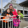 Ryan and Alison Pouliot with friend Oscar Ronner-Bland with their Easter baskets at the 2018 Annual Hampton Beach Easter Egg Hunt by Hampton Recreation on Saturday at Hampton Beach, NH 3-24-2017.  Matt Parker Photos