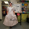 Martha Washington AKA Ella Rodgers studied Martha Washington who was the wife of George Washington, the first President of the United States at the Grade 4 Revolutionary War Wax Museum on Friday 5-11-2018 @ Seabrook Elementary School, Seabrook, NH.  Matt Parker Photos