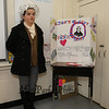 """Patrick Henry AKA Molly Wear was noted for the famous quote, """"Give me liberty, or give me death!"""" at the Grade 4 Revolutionary War Wax Museum on Friday 5-11-2018 @ Seabrook Elementary School, Seabrook, NH.  Matt Parker Photos"""