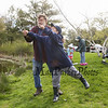 Jameson Blais gets help from his Grandfather Andre cast his pole at the 2018 Hampton Fishing Derby sponsored by the Hampton Rec Department on Saturday 5-12-2018 @ Batchelder Pond, Hampton, NH.  Matt Parker Photos
