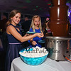 (L to R) 6th grader Kayla Seramin and 4th grader Elizabeth Furtado dipping fruit and marshmellows in the chocolate fountain at the 1st Annual K-8th Daughter's Choice Dance sponsored by DAD (Daughters Annual Dance) committee on Saturday 5-19-2018 @ the WHS Cafeteria, Hampton, NH.  [Matt Parker/Seacoatonline]