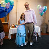 6th grader Alina Nickerson with her date Jim Tierney at the 1st Annual K-8th Daughter's Choice Dance sponsored by DAD (Daughters Annual Dance) committee on Saturday 5-19-2018 @ the WHS Cafeteria, Hampton, NH.  [Matt Parker/Seacoatonline]