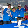 WHS Alumni Association (L to R) Sue Brooks (81), Lori Cotter (76) and Ted Davis (61) manning the Alumni booth at the Class of 2018 Winnacunnet High School Graduation Ceremony on June 8, 2018, 6:00 PM @ WHS, Hampton, NH.  Matt Parker Photos