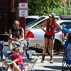 Girl with camera at the New Boston 4th of July parade on Wednesday, 7-4-2018, New Boston, NH.  Matt Parker Photos