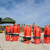 2018 Annual Northern New England Lifesaving Championship with lifeguards from Nova Scotia, Ogunquit, Hampton, Sailsbury, Scarborough, York, and Wells Beaches on Wednesday August 1st, 2018, on the Atlantic Ocean, Ogunquit, ME.  Matt Parker Photos