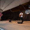"""Michael David sings, """"Some Gave All"""" in memory of Senator John McCain and all veterans who served our country at the 14th Annual Hampton Beach Talent Competition 2018 on Sunday 8-26-2018 at the Seashell Stage Hampton Beach, NH.  [Matt Parker/Seacoastonline]"""