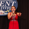 """Ms Ella Burroughs of Hampstead NH and student at Pinkerton Academy sings, """"Don't Rain on My Parade""""  in the junior divison at the 14th Annual Hampton Beach Talent Competition 2018 on Sunday 8-26-2018 at the Seashell Stage Hampton Beach, NH.  [Matt Parker/Seacoastonline]"""