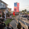 Unveiling of the Monument is done by John Barvenik CSM USA and Matthew Rogers SSGT USAF at the American Legion Post 35 Global War On Terrorism Monument Rededication on Tuesday, 9-11-2018 @ Post 35, High Street, Hampton, NH.  Matt Parker Photos
