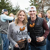 Ashlie Tucker and Matt Murray from Bow NH show off their pretzel necklaces and enjoying their first visit to the 11th Annual New Hampshire BrewFest on the grounds of Cisco Brewers, Pease Tradeport Portsmouth, NH on Saturday 10-12-2019.  Matt Parker Photos
