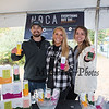 """UNH Graduates and business owners Galen Hand, Marissa Urbanek and Lily Cragg of NOCA offering their """"No Bubbles"""" drinks at the11th Annual New Hampshire BrewFest on the grounds of Cisco Brewers, Pease Tradeport Portsmouth, NH on Saturday 10-12-2019.  [Matt Parker/Seacoastonline]"""