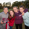 CMS 6th graders (L to R) Lila Macinnes, Caraden Forest, Racquel Battle and her cousin Brooke Battle posing for a photo at the Third Annual Family Fun Day community event at Stratham Hill Park on Saturday, October 19, 2018.  [Matt Parker/Seacoastonline]