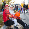 East Kingston's Michelle French with 2 year old Wyatt at Exeter's annual Halloween Parade on Saturday 10-26-2019 @ Swasey Parkway, Exeter NH.  Matt Parker Photos