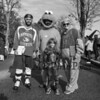 1st grader Claire Bisson with David Tovey, Greg Bisson and Melissa Roy at Exeter's annual Halloween Parade on Saturday 10-26-2019 @ Swasey Parkway, Exeter NH.  Matt Parker Photos