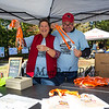 "Karyn and Kevin Cumberland with showing off, ""brew caddies"" at the 2019 Exeter Powder Keg Beer & Chili Festival on Swasey Parkway sponsored by the Exeter Area Chamber of Commerce and Exeter Parks and Recreation on Saturday 10-5-2018, Exeter NH.  [Matt Parker/Seacoastonline]"