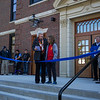 Marc Marshall leads in the Pledge of Allegiance, Hampton Academy Community Open House and Ribbon Cutting on Saturday October 5th 2019 @ Hampton NH.  Matt Parker Photos