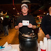 Kevin Taillon of Naked Hot Sauces at the 2019 Hampton Firefighters Toy Bank Annual Chili Cook Off on Thursday at Wally's Pub on 11-21-2019, Hampton Beach, NH.  Matt Parker Photos
