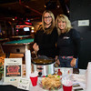 Crystal Simons and Dora Hand of Hagan's Grill at the 2019 Hampton Firefighters Toy Bank Annual Chili Cook Off on Thursday at Wally's Pub on 11-211-2019, Hampton Beach, NH.  Matt Parker Photos