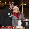 Christian Kent and Anna Craig of the Old Salt serving up clam chowder and cookies at the 2019 Annual Christmas Tree Lighting at the Gazebo at Marelli Square sponsored by the Hampton Parks & Recreation Department on Friday Night 12-6-2019, Hampton, NH.  Matt Parker Photos