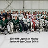 2019 NH Legends of Hockey Senior All-Star Classic, DIV I, DIV II and DIV III on Sunday 3-17-2018 @ The Rinks at Exeter.  Matt Parker Photos