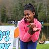 3rd grader Kora Cochrane proudly displays the fish she caught at the 2019 37th Annual Hampton Fishing Derby sponsored by the Hampton Rec Department on Saturday 5-11-2018 @ Batchelder Pond, Hampton, NH.  Matt Parker Photos