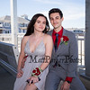 Brady Mansfield and Gina Tryder in their tux and gown at the Winnacunnet High School 2019 Junior Prom Grand March on Saturday 5-18-2018 @ the Hampton Beach Seashell Stage.  Matt Parker Photos