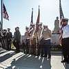 Memorial Day ceremony at the Hampton Beach Marine Memorial presented by Post 35 of Hampton NH, on Monday 5-27-2019.  Matt Parker Photos