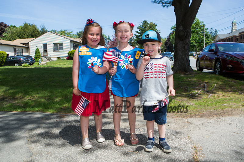 Memorial Day parade and ceremony at the Hampton High Street Cemetery presented by Post 35 of Hampton NH, on Monday 5-27-2019.  Matt Parker Photos
