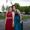 Samantha Wilcox and Ella Patterson, Exeter High School students take the spotlight during the Grand March for the 2019 Senior Prom held on Friday, May 31st at the Atkinson Country Club, Atkinson NH.  Matt Parker Photos